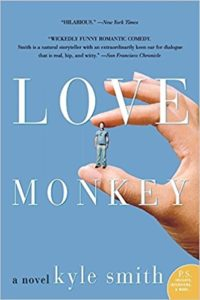Cover of Kyle Smith's awful novel, which is called Love Monkey.