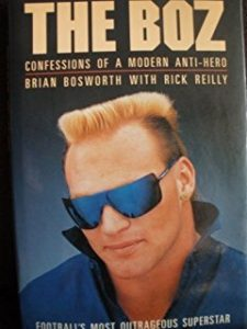 Book Cover of The Boz, Confessions of a Modern Anti-Hero