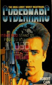 Cover of novel Cybernarc by Robert Cain.