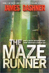 Cover of the novel, The Maze Runner.