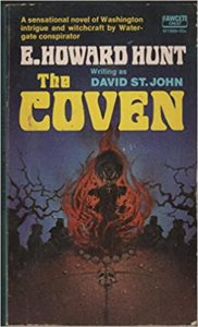 Cover of the novel The Coven, written byE. Howard Hunt writing as David St. John.