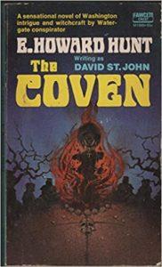 Cover of the novel The Coven, written byE. Howard Hunt writing as David St. John.